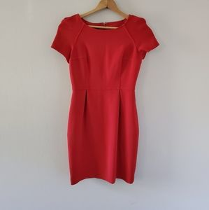 Nine West Red Sheath Dress